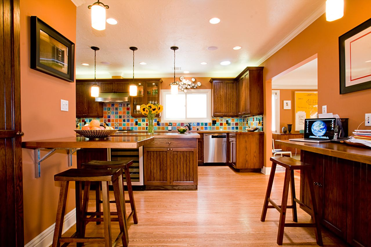 , Orange Kitchen, Decor Ideas, Kitchen Design, Best Kitchen Colors